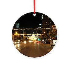 Austin, Texas Ornament (Round)
