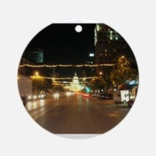 Austin, Texas Ornament (Round)