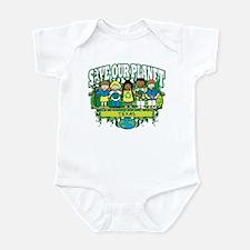 Earth Kids Texas Infant Bodysuit
