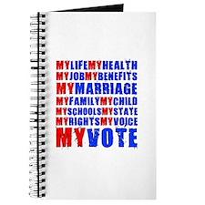 My Life My Vote Journal