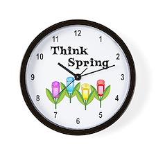 Think Spring GPS Wall Clock