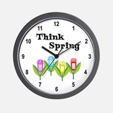 Think Spring GPS Wall Clock
