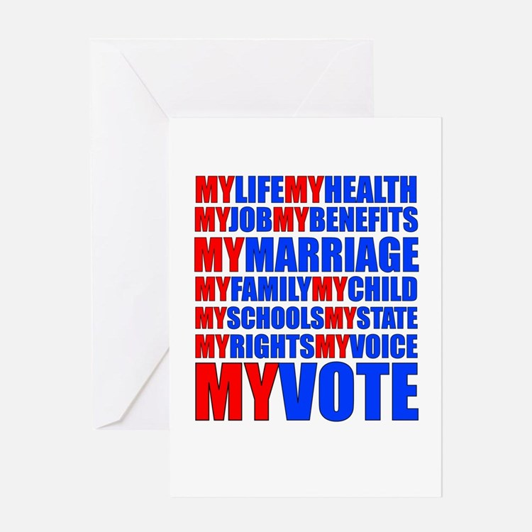Cute Bill of rights day Greeting Card