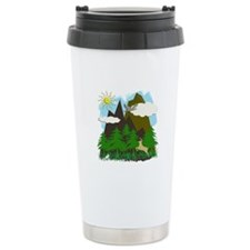 Mountains & Forest - Travel Mug