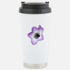 Purple Flower - Stainless Steel Travel Mug
