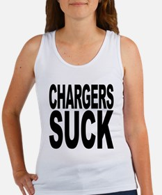Chargers Suck Women's Tank Top