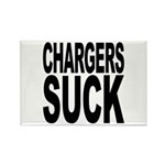 Chargers Suck Rectangle Magnet