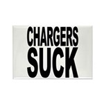 Chargers Suck Rectangle Magnet (10 pack)
