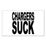 Chargers Suck Rectangle Sticker 10 pk)