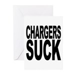 Chargers Suck Greeting Cards (Pk of 20)