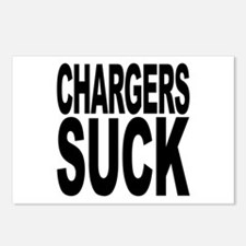 Chargers Suck Postcards (Package of 8)