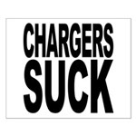 Chargers Suck Small Poster