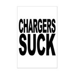 Chargers Suck Mini Poster Print