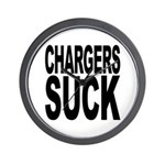 Chargers Suck Wall Clock