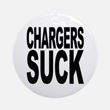 Chargers Suck Ornament (Round)