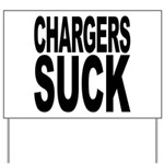 Chargers Suck Yard Sign