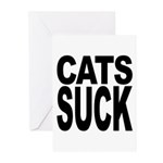 Cats Suck Greeting Cards (Pk of 10)