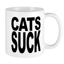 Cats Suck Small Mug