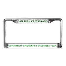San Juan Capistrano CERT License Plate Frame
