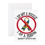 I Am Not A Puzzle Greeting Cards (Pk of 10)