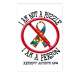 I Am Not A Puzzle Postcards (Package of 8)