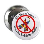 "Don't Put Words in Our Mouths 2.25"" Button (100 pa"