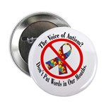 "Don't Put Words in Our Mouths 2.25"" Button (10 pac"