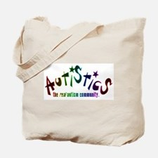 The Real Autism Community Tote Bag