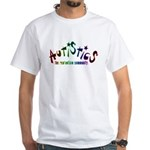 The Real Autism Community White T-Shirt