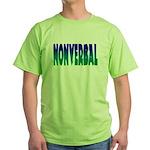 nonverbal Green T-Shirt