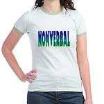 nonverbal Jr. Ringer T-Shirt
