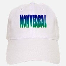 nonverbal Baseball Baseball Cap