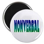 "nonverbal 2.25"" Magnet (100 pack)"