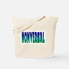 nonverbal Tote Bag