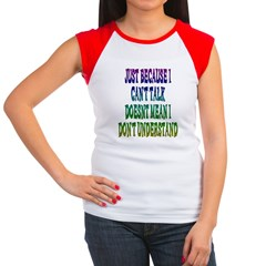 Just Because... Women's Cap Sleeve T-Shirt