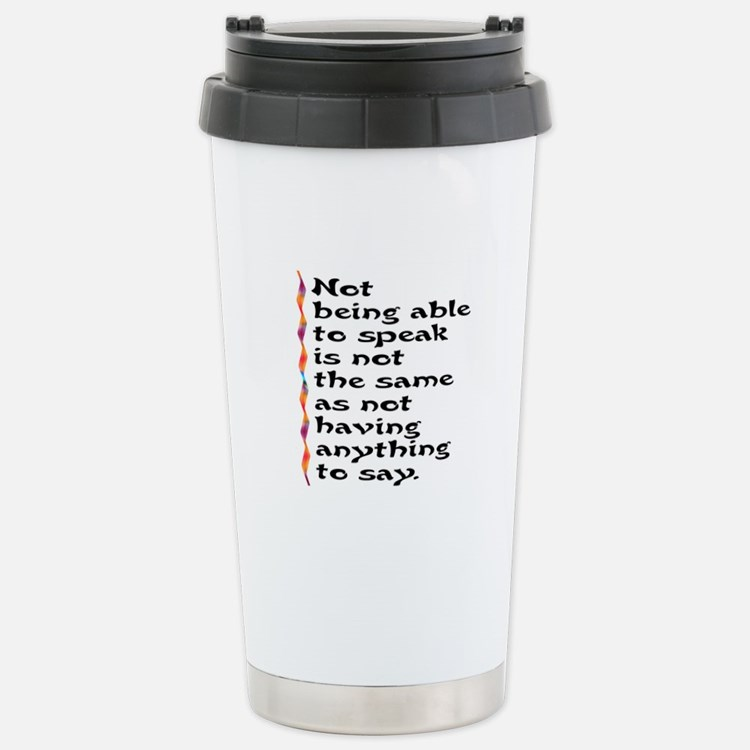 Speak Travel Mug