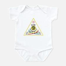 Unique John force Infant Bodysuit