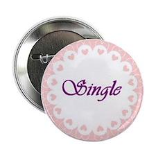 Single Circle Hearts Button