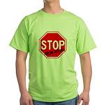 Stop Abusing Autistics Green T-Shirt