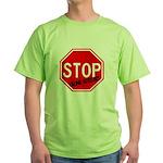 Stop Killing Autistics Green T-Shirt