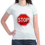 Stop Killing Autistics Jr. Ringer T-Shirt