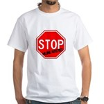 Stop Killing Autistics White T-Shirt