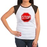 Stop Killing Autistics Women's Cap Sleeve T-Shirt