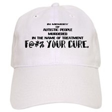 F@#% Your Cure Baseball Cap