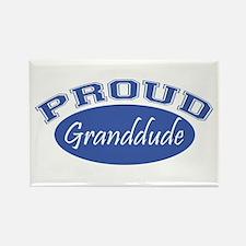 Proud Granddude Rectangle Magnet