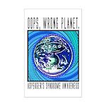 Wrong Planet Mini Poster Print