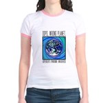 Wrong Planet Jr. Ringer T-Shirt