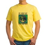 Wrong Planet Yellow T-Shirt