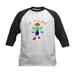 Wrong Planet Alien Kids Baseball Jersey
