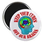 "Keep Your Cures 2.25"" Magnet (100 pack)"